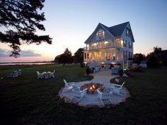 Pictures of beautiful backyard decks, patios and fire pits | DIY Deck Building & Patio Design Ideas | DIY