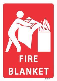 Fire Blanket 340x240mm
