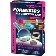 Forensics Fingerprint Lab Kit
