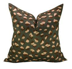 Kelly Wearstler Feline pillow cover in by sparkmodern on Etsy, $60.00