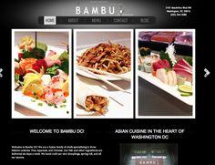 Bambu, Asian fusion restaurant in DC