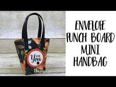 Envelope Punch Board Coffee Break Baskets - SandraR Stampin' Up Demonstrator Independent - YouTube