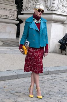 Who: Elisa Nalin  What:Paris-based stylist, former Costume National designer
