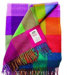 "Amazon.com: Avoca 100% Lambswool Throw ""Circus"" design 56"" x 40"" Made in Ireland: Furniture & Decor Living Room Plan, Washable Area Rugs, Easy Gifts, Furniture Decor, Ireland, Wool, Amazon, How To Make, Design"