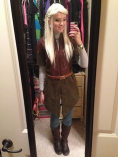 GLITZY GEEK GIRL: Tutorial: Legolas Cosplay