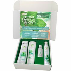 New Herbal Essences Volumizing Naked Volume Bundle - boost your hair's flair!