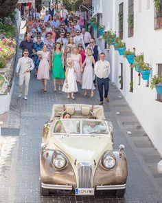 Follow the bride and groom! Sophie & Alex's wedding day in Mijas, Southern Spain. Ceremony: Mijas Pueblo Church Wedding venue: @ilunionhotels Hairdresser & makeup: @lucyhmua Photographer: Greg Korvin @solwedding Videographer: Juan Pedro G. Cinematography: Sol Wedding Marbella - #solweddingmarbella - @sophieowen44 @alexanderpowen @christianowen3 @jayparadise1990 @nickynoodles7 @willtibbetts89 @irish_tintin @chloepaintx @chanellefreer @laurenct8 @laravenables #weddingphotographer #wedding2019… Bella Wedding, Wedding Film, Wedding Venues, Wedding Day, Church Wedding, Cinematography, Hairdresser, Irish, Spain