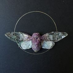 Beautiful crystalized art by Tyler Thrasher