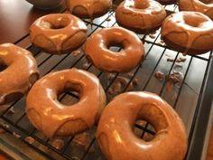 Glazed Apple Cider Doughnuts!