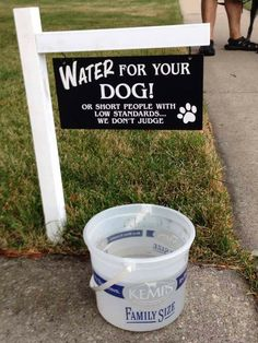Funny Signs, Funny Memes, Hilarious, Lmfao Funny, Love Dogs, Puppy Love, Diy Pour Chien, Dog Rooms, Dog Life