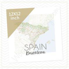 Spain Barcelona Mission Boundaries Elder or Sister by WorthLovin