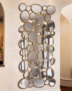 Wall Art Mirrors broken mirror mosaiclovelettersfromt on etsy, $40.00