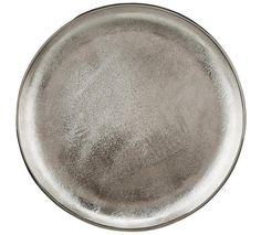 Deko-Schale in Silber für Abendessen im Ethno Style Spirit Of Summer, Montage, Ethno Style, Tableware, Products, Food Dinners, Silver, Dinnerware, Tablewares