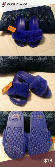 20 Best Fuzzy slides images Fuzzy slides, Me too sko  Fuzzy slides, Me too shoes