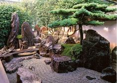 """Daisen-in is one of the 22 sub temples of Daitoku-ji (Buddhist temple). One of the things that is great about the Daisen-in is the beautiful Japanese garden, which is so-called """"karesansui."""" """"Karesansui"""" means Japanese garden or paintings that express nature such as ocean, river, animals, or waterfall with rocks and gravel. The Japanese garden of the Daisen-in beautifully expresses a stream of water that flow from waterfall to the river."""