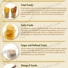 6 Foods That Make Your Arthritis Worse | Visual.ly