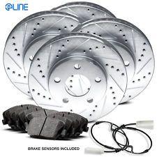 [COMPLETE KIT] eLine Drilled Slotted Brake Rotors & Ceramic Pads CEC.3401602