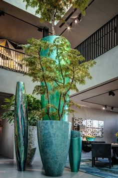 huge vases