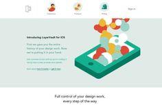 #flat #design | 40 Fresh Examples of Flat Web Design - Layer-Vault