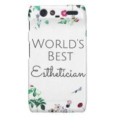 World's best esthetician