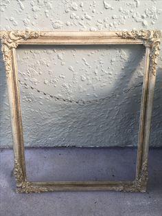 Annie Sloan Country Grey, Dark Wax and Gold Gilding wax