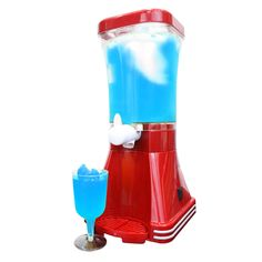 JM Posner Home Slush Machine, 20 W, 1 L, Red: http://amzn.to/2devlL5