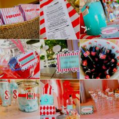 Carnival theme wedding. This made me think of you @Stacye Redmon, and your cotton candy!!