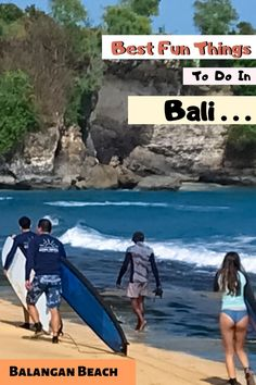 Balangan Beach (Pantai Balangan) in Uluwatu is one of the most picturesque beaches in Bali and it's easy to see why! Balangan became quite popular when a photo taken on the cliffs went viral on Instagram and it is now one of the most visited beaches in Uluwatu.👉👉Photo by Denny Darmo @dennydarmo Adventure Time, Adventure Travel, Bali With Kids, Travel Around The World, Around The Worlds, Travel Tickets, Travel Agency, Luxury Travel, Beaches