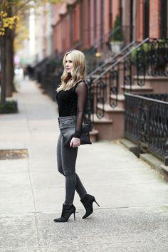 Sheer sleeve top  Top: http://rstyle.me/n/catazhbkj7f Clutch: http://rstyle.me/n/catbd6bkj7f Jeans: http://rstyle.me/n/89r7wbkj7f Shoes: http://rstyle.me/n/b3gd7ebkj7f
