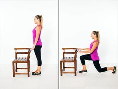 Alternating Rear Lunges The Total Body Workout for Beginners