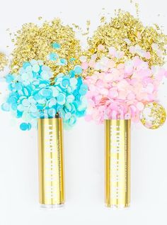 planning a gender reveal party? Our pink or blue confetti poppers are a timeless way to announce the gender of your your new arrival coming soon! Perfect for a baby shower too! Gender Reveal Party Decorations, Baby Gender Reveal Party, Balloon Decorations, Letter Balloons, Confetti Balloons, Gender Reveal Confetti Poppers, Sparkler Candles, Twinkle Twinkle, Party Favors