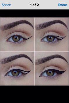 50 Super Ideas Makeup Eyeshadow Tutorial Step By Step Winged Eyeliner # . - 50 Super Ideas Makeup Eyeshadow Tutorial Step By Step Winged Eyeliner # – - Makeup Eye Looks, Eye Makeup Steps, Cat Eye Makeup, Smokey Eye Makeup, Eyebrow Makeup, Skin Makeup, Eyeshadow Makeup, Eyeshadow Ideas, Eyeshadow Palette