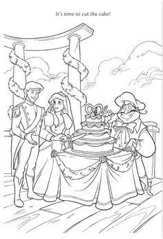 Disney Princess Ariel And Eric Coloring Pages Rsad Coloring