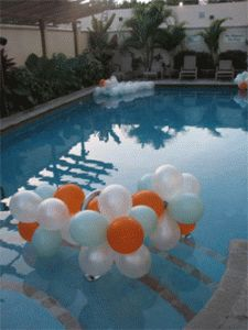 1000 images about pool decor for parties on pinterest wedding pennant pools and pool decorations. Black Bedroom Furniture Sets. Home Design Ideas