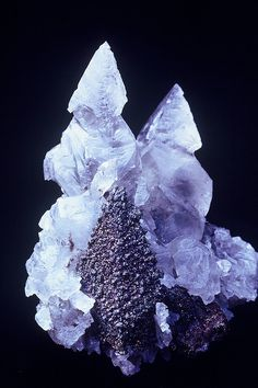 Calcite and pyrite