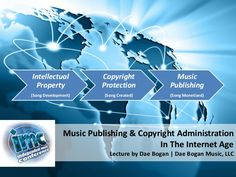 """The following presentation is from my lecture, """"Music Publishing & Copyright Administration In The Internet Age"""" at the Independent Music Conference on October…"""