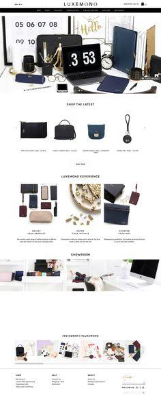 Website - Luxemono