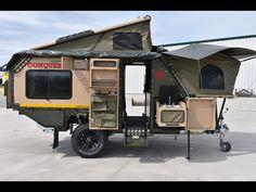 Pop Up Camper with Bathroom . Pop Up Camper with Bathroom . This Custom Camper Van Can Sleep A Family Of 6 Truck Camper, Camper Box, Off Road Camper Trailer, Popup Camper, Diy Camper, Camper Trailers, Expedition Trailer, Overland Trailer, Camping Survival
