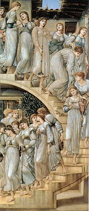The Golden Stair - Sir Edward Burne - Jones