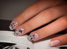 #nailart #blackandwhitenails #ART #nailswag #nails #beatinails #abstractart