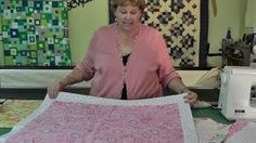 The Self Binding Baby Quilt (Receiving Blanket) This is just like the blanket you just pinned to your board.....I like this one because it is a video.