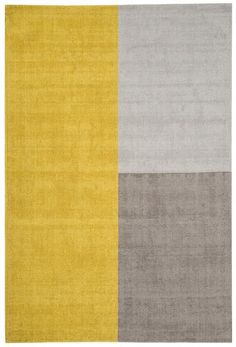 Apple Rugs Blox Mustard Rug - From the Blox Wool Rug Collection, the Blox Mustard rug comes in a bold design of colour blocks, led here by a mustard yellow. As with other Blox Rugs, it has been hand woven in India in pure new wool. Dark Carpet, Modern Carpet, Wool Carpet, Rugs On Carpet, Beige Carpet, Mustard Rug, Mustard Yellow, Teal Rug, Cheap Carpet Runners