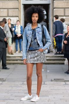 Julia Sarr-Jamois Is Our New Favorite Street Style Star (PHOTOS)