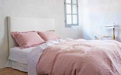 Bädda sängen med linnelakan för snygg sovkomfort - Sköna hem
