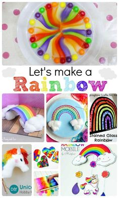 Rainbow Crafts & Activities - super lovely rainbow crafts for kids. why not make a rainbow this Spring? Perfect St Patrick's Day DIYs too! patricks day ideas for teens Rainbow Crafts & Activities - Red Ted Art Crafts For Seniors, Crafts For Kids To Make, Easter Crafts For Kids, Crafts For Teens, Toddler Crafts, Art For Kids, St Patricks Day Crafts For Kids, St Patrick's Day Crafts, Fun Crafts