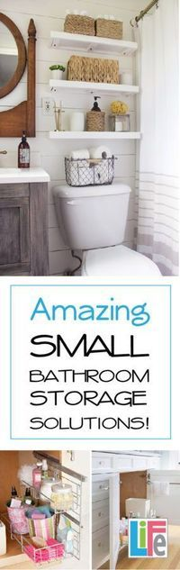 14 Amazing Tips For Organizing Your Small Bathroom! Save Space And Have A  Cleaner Bathroom