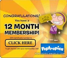Free Poptropica Membership Drawing http://poptropicaworld.com/poptropica-memberships-for-free-drawing/