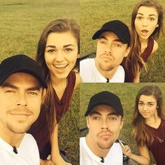 Derek Hough and Sadie Robertson
