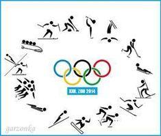 Výsledek obrázku pro zimní olympijské sporty - piktogramy