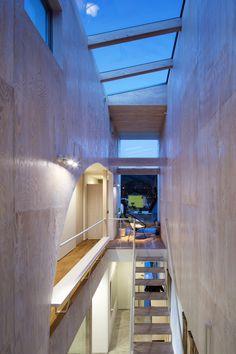 階段・天窓 / Yoshihiro Ishiue Architects